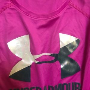 Used once! Under Armour long sleeve workout shirt